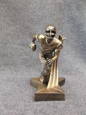 gold super star resin football trophy award Rst510