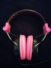 Hello Kitty 11609-HK Headband Headphones - Black/Pink