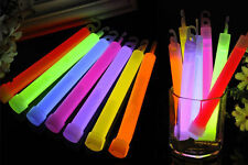 "6"" Light New  Glow Sticks Party Fun Camping Emergency Survival Hook Lanyard CAs"