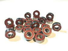 24 rote RS RACE Kugellager Tamiya TL01 / TL-01 / TL 01 Chassis RED SEAL BEARINGS