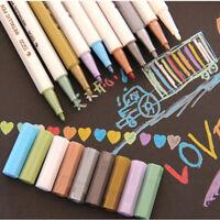 10pcs Mixed Permanent Marker Pens Sharpie Painting Pencil Fine Point Pro.