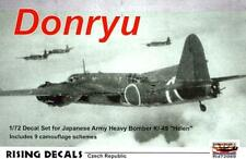 "Rising Decals 1/72 NAKAJIMA Ki-49 DONRYU ""HELEN"" Japanese WWII Bomber"