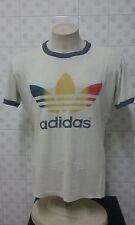 Adidas 80s Very Rare old T-shirt Camiseta original M / L vtg Vintage Colección