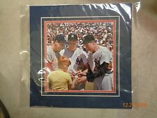 Matted photo of, baseball, Stan Musial, Mickey Mantle, and Joe DiMaggio