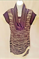 Made For Me To Look Amazing Women's Junior's Sweater Dress W/Matching Scarf SZ L