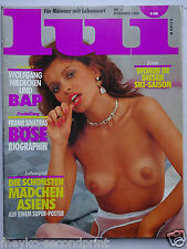 Lui ( D) 11/1986,  Wolfgang Niedecken, Asia Girls, Kim Wilde, Robert de Niro