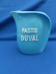 Pichet céramique publicité pastis Duval vintage