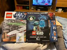 Lego 9493 X-wing starfighter with Exclusive Lego Yoda NYC Minifig