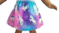 "Skirt fits American Girl dolls 18"" Doll Clothes Unicorns"