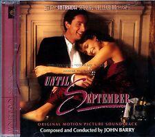 "John Barry ""UNTIL SEPTEMBER"" score Intrada 1200 Ltd-ed CD sold out"