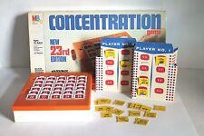 VINTAGE CONCENTRATION GAME 1959 Milton Bradley ROLOMATIC PUZZLE CHANGER TV GAME