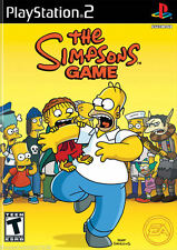 The Simpsons Game PS2 New Playstation 2
