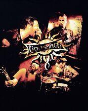 2009 Godsmack Concert Shirt, Power Hour Tour, Black, Adult Size Large L
