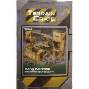 Mantic Terrain Crate Sci-Fi - Gang Warzone - Warpath - Deadzone - Star Saga