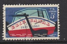USA 1967 Erie Canal 150th Anniversary SG1305 USED 5c Barge