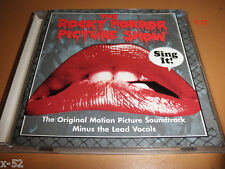 ROCKY HORROR PICTURE SHOW rare CD SING IT (no lyrics version) SF DOUBLE FEATURE