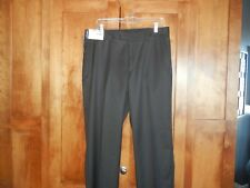 Murano Men's Dress Pants 34x32 Flat Front NWT