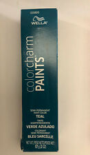Wella Colorcharm Paints Semi-permant Hair Color Teal ( Blue Green )