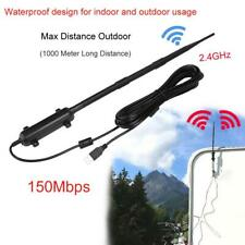 Outdoor Wifi USB Antenna 2.4GHz Wireless Receiver Signal Amplifier Long-range LJ