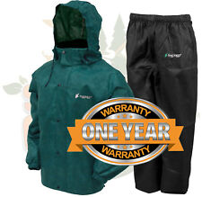 Frogg Toggs All Sport Rain Suit Jacket & Pants Gear Wear Sports Frog Green MD