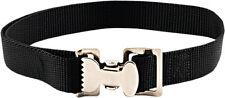 10 - Alligator Clip Nylon Tie Down Straps - Black - 8 Feet