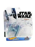 Hot Wheels Star Wars Starships TIE FIGHTER w/ Flight Stand Disney Mattel