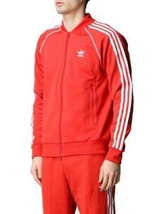 XL  adidas OG MEN'S Adicolor Superstar TRACKSUIT Jackets & Pants Lush Red  LAST1