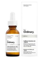 The Ordinary Caffeine Solution 5% + EGCG 30ml Dark Circles Serum Puffy Eyes Skin