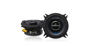 "Alpine SPS-410 4"" Coaxial 2-Way Car Speaker Pair NEW"
