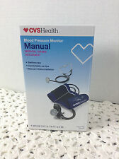 Manual Blood Pressure Monitor By CVS Health New In Box