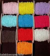Shock Cord Paracord Round Elastic Stretch Beading String 1mm Thread