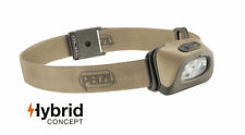 Petzl Tactikka + Plus Hybrid Concept Headlamp 250 Lumens Desert Brand New In Box