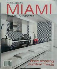 Florida Design's Miami Home & Decor Vol 11 No 4 Furniture Trend FREE SHIPPING sb