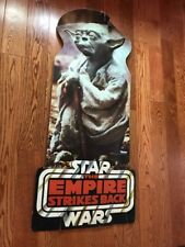 Kenner Star Wars 1981 Yoda ESB The Empire Strikes Back Store Display-CRACKED-