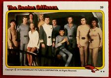 STAR TREK - MOVIE - Card #39 - THE SENIOR OFFICERS - TOPPS 1979