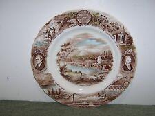 "Vintage OREGON plate Meier & Frank Johnson Bros England, 10 3/4"""