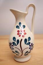 Vintage Hand Painted Purinton Slip Ware Pitcher Decanter Cruet Vase