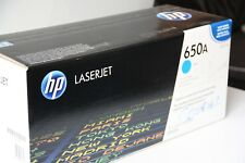 Genuine New HP Colour Laserjet CE271A / 650A Cyan Laser Printer Toner Cartridge
