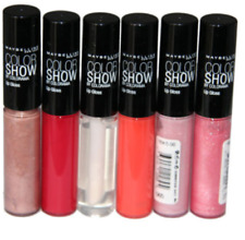 Maybelline Color Show lipgloss various shades