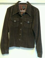 American Eagle Outfitters Women's Corduroy Lined Buttoned Front Jacket Size M