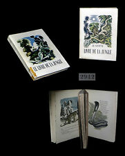 [VOYAGES INDE] KIPLING - Livre et second livre de la Jungle, ill. GANDON.