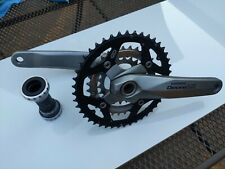 Shimano FC-M580 Deore LX chainset inc bottom Bracket Mega 9 44/32/22 hollowtech