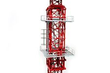"Potain MDT178 Climbing Cage - ""RED""  - 1/50 - TWH #047A-01083"