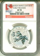2015 S$10 Canada Maple Leaf Early Release NGC SP70