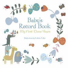 Baby's Record Album (Boy) (2017, Hardcover)