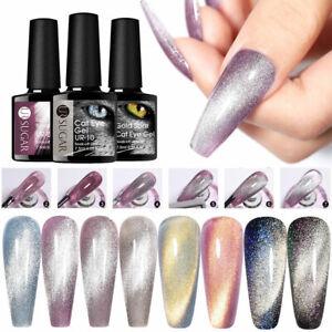 UR SUGAR Magnetische UV Gel Nagellack Silber Linien Winter Nail Art Dekoration