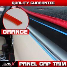 10ft Moulding Trim Interior Red Edge Gap Lines Point Garnish Dashboard Body DIY
