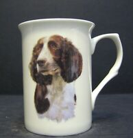 Springer Spaniel Dog Head B/F Fine Bone China Mug Cup Beaker