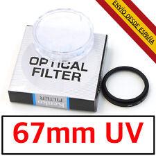 67mm Lente UV FILTRO KENKO HOYA Ultra-Violeta PROTECTOR Objetivo