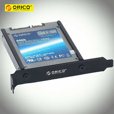 "ORICO 2.5"" 2.5 Inch IDE/HDD/SSD Desktop PC PCI Frame Mounting Bracket Rack Shelf"